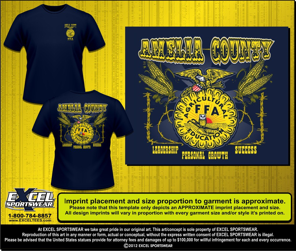 Excel sportswear tees 39 s most interesting flickr photos for Ffa t shirt design