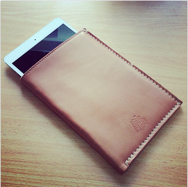 Proper Leather iPad Mini Sleeve