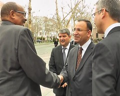 Somaliland president received by Turkish deputy prime minister
