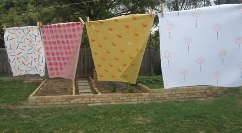 Hanprinted fabrics