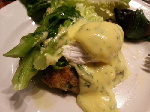 The Tramshed poached eggs bubble squeak
