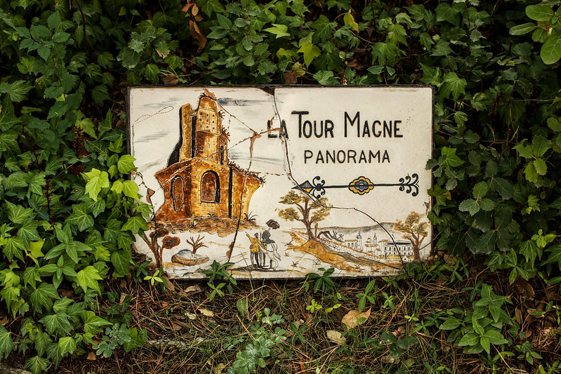 La Tour Magne tower this way!