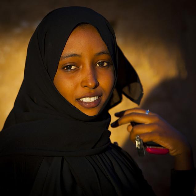 Young Sudanese Woman, Kassala, Sudan
