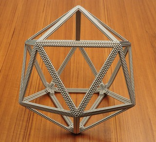 Very Large Icosahedron Frame