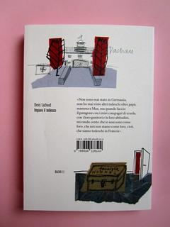 Denis Lachaud, Imparo il tedesco. 66THAND2ND 2013. Progetto grafico: Silvana Amatao, Marta B Dau. Alla cop.: disegno di Julia Binfield. Quarta di copertina (part.), 5