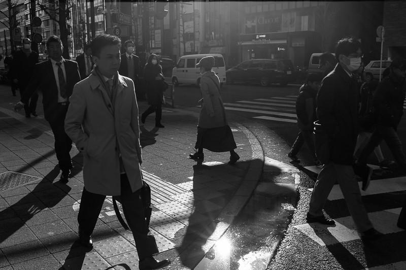Morning Rush in Shinjuku