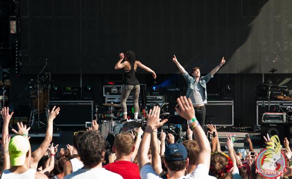 Matt & Kim @ Miami Ultra Fest 2013