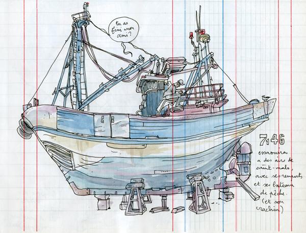 essaouira fishermen's boat