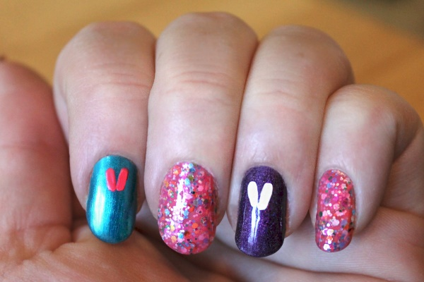 Peeps Nail Art Tutorial, 2