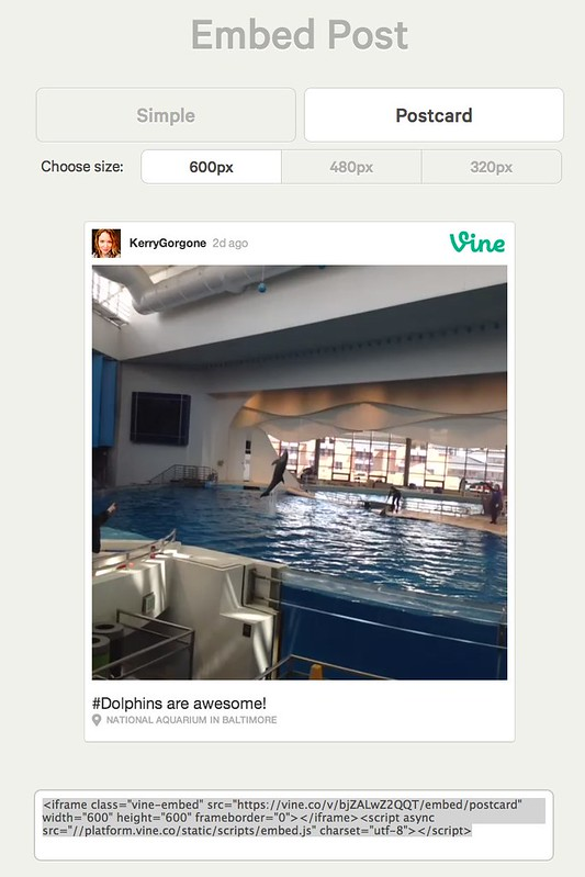 Embed KerryGorgone's post on Vine