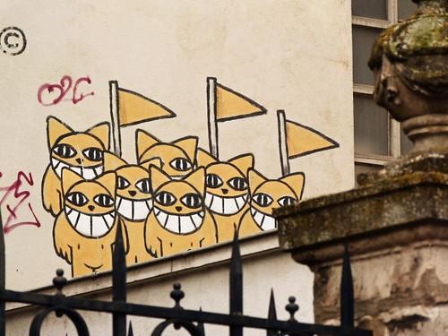 Foto de Monsieur Chat (M. Chat) en Orleans