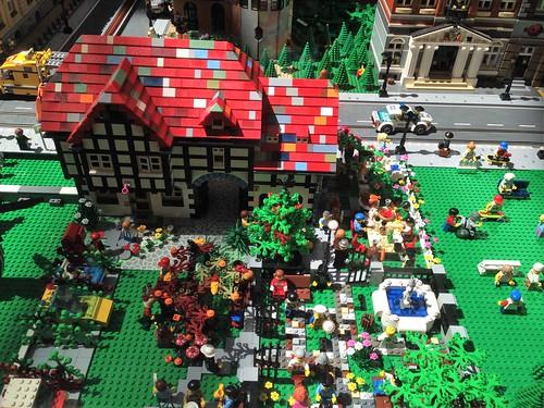 ausstellung exibition spielzeug lego baustein brick gebäude building stadt town neunkirchen saarparkcenter saarland deutschland germany