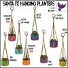 [ free bird ] Santa Fe Hanging Planter Gacha Key