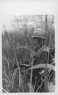 Ronald Richards Moves Through Elephant Grass, August 1968