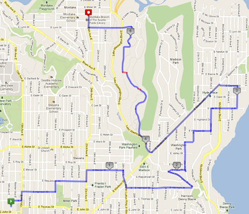 Today's awesome walk, 5.5 miles in 1:40 by christopher575