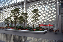 Kogod Courtyard - cafe - Smithsonian American Art Museum - 2013-01-04