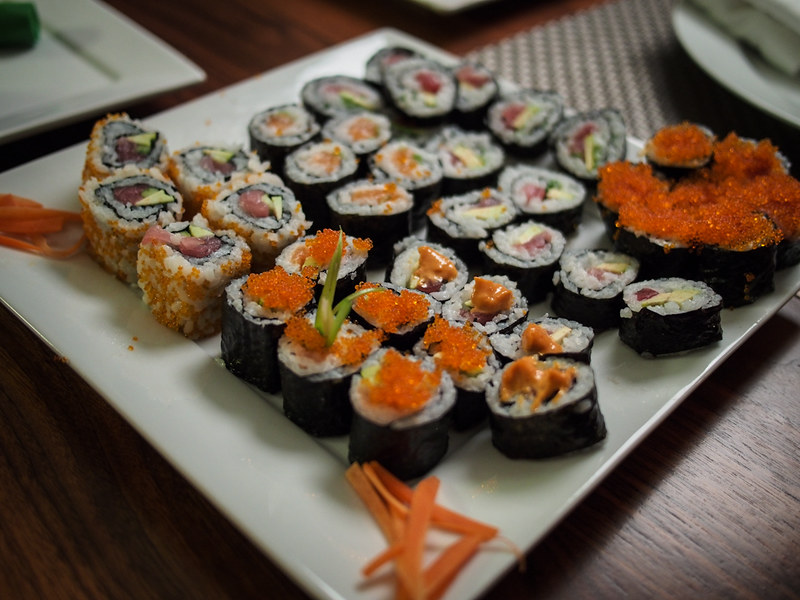 New Year's Eve 2012 - Sushi Night