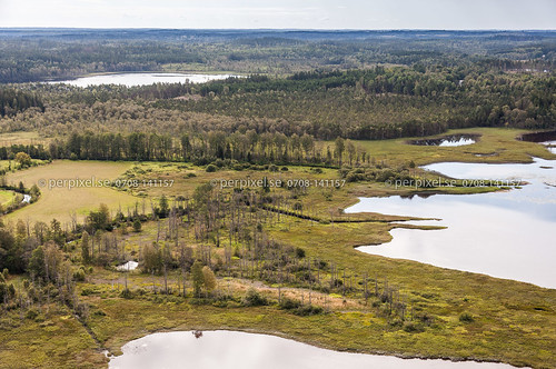 3 natur sverige kalv swe västragötaland hestra flygfoto kalvsjön uddarp