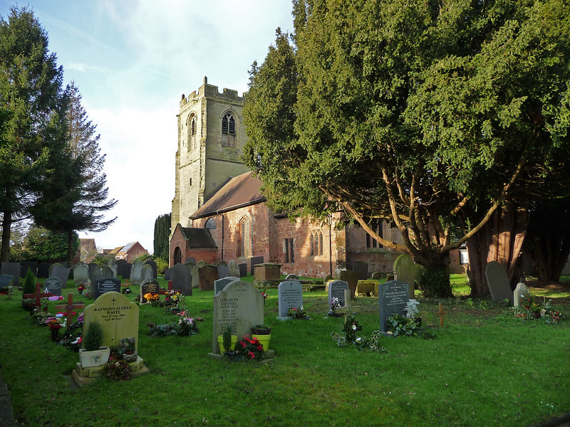 Church from the Graveyard
