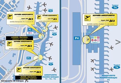 Trajeto ônibus Exprés Aeropuerto