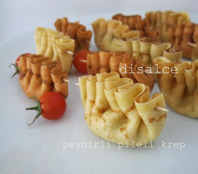 kahvaltı-peynirli pileli krep