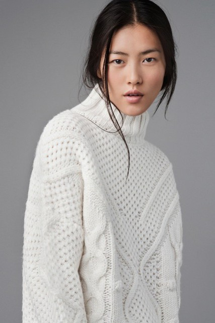 jersey blanco Zara