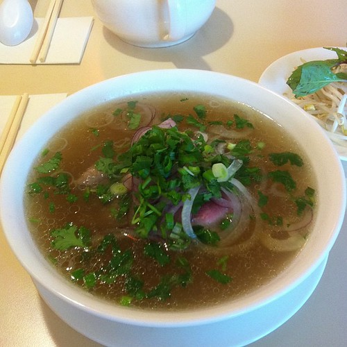 Pho at Golden Orchid #yegfood #yegpho by raise my voice