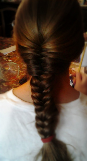 Izzy's fishbone braid