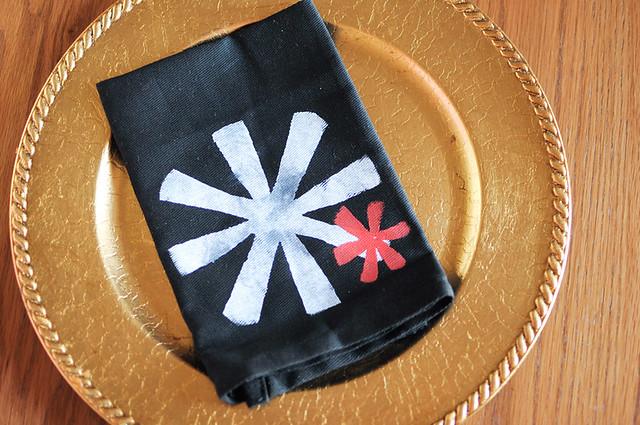 jman's napkin design