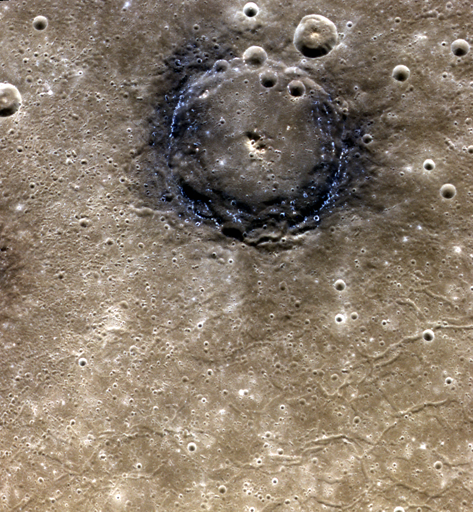 Poe Crater, Planet Mercury