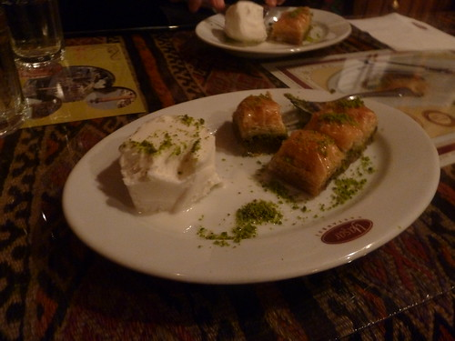 Eating baklava and ice cream in Maraş by mattkrause1969