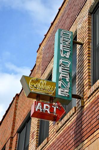 Drew Deane Gallery Neon Sign