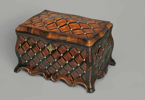 006-Caja rococo-Abraham Roentgen 1760-© Kunsthandel Peter Mühlbauer