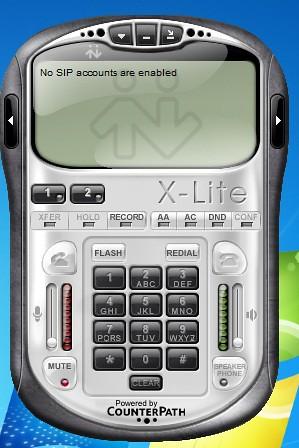 Tampilan X-Lite