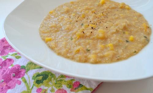 Quinoa & Acorn Squash Soup