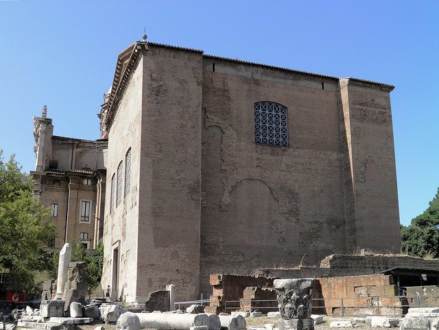 Curia Julia (Senate House), Roman Forum, Rome