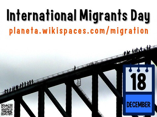 December 18 is International Migrants Day