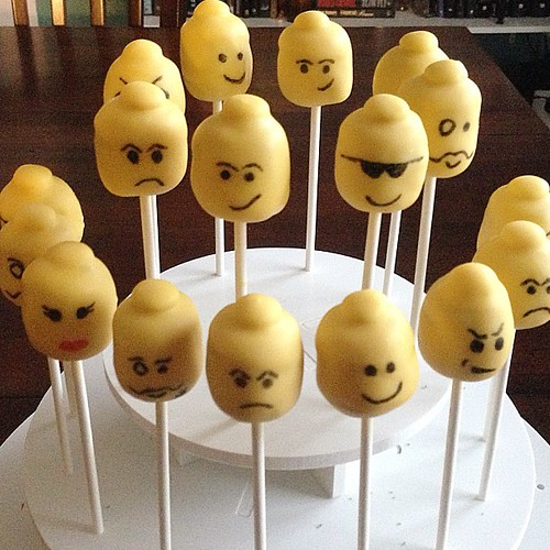 My favorite Lego stocking stuffer. #cakepops