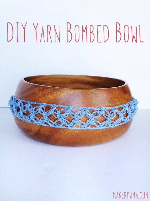 DIY Yarn-Bombed Bowl