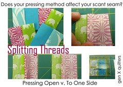 splitting threads collage