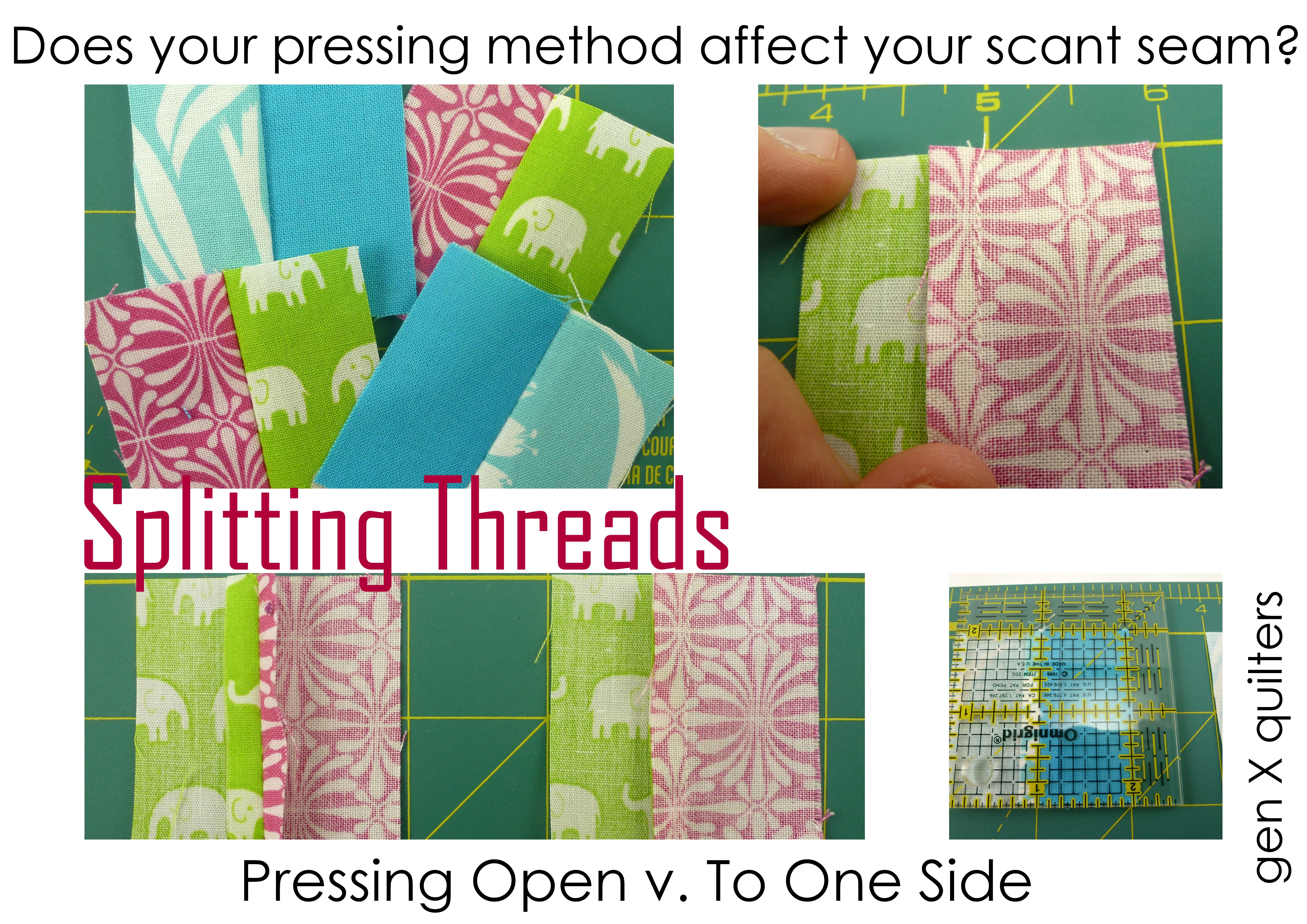 splitting threads collage