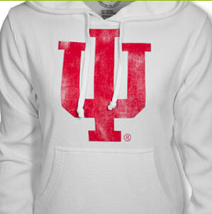 Women's IU Hooded Sweatshirt By Sportiqe
