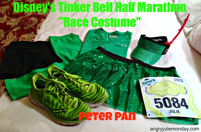 Peter Pan Running Costume