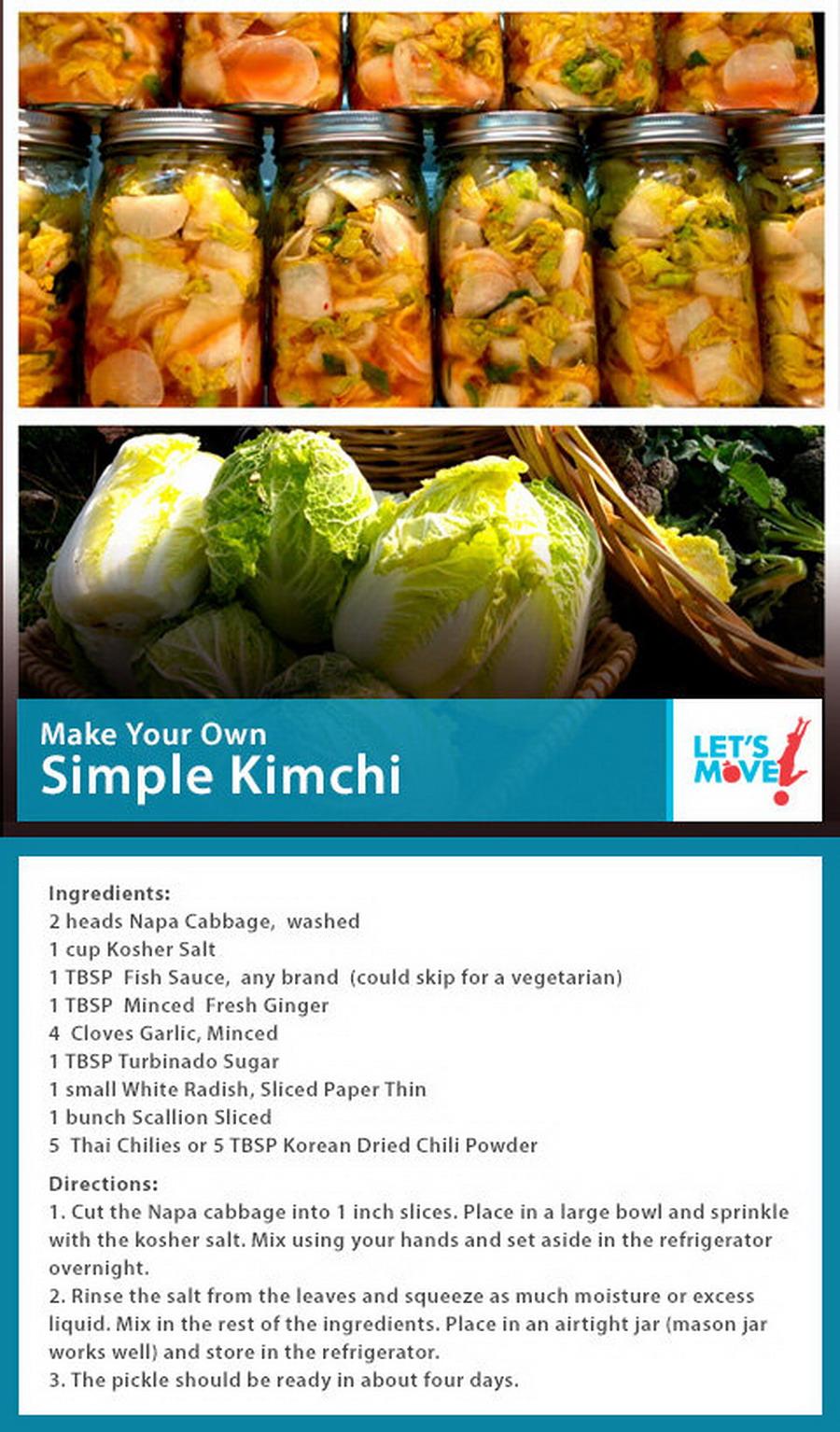 Simple kimchi