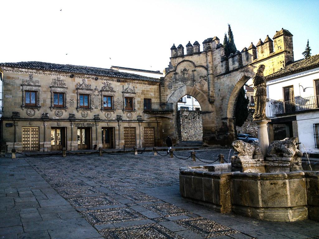 Plaza de los Leones. Baeza