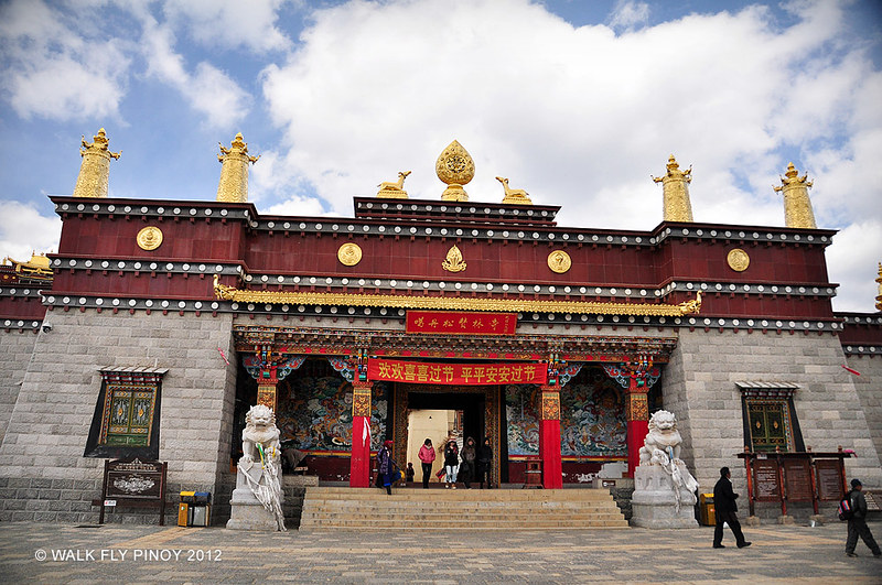 Ganden Sumtselling Monastery, Zhongdian, Yunnan, China