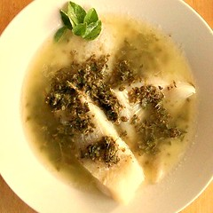 Snapper with Lemon and Oregano Sauce