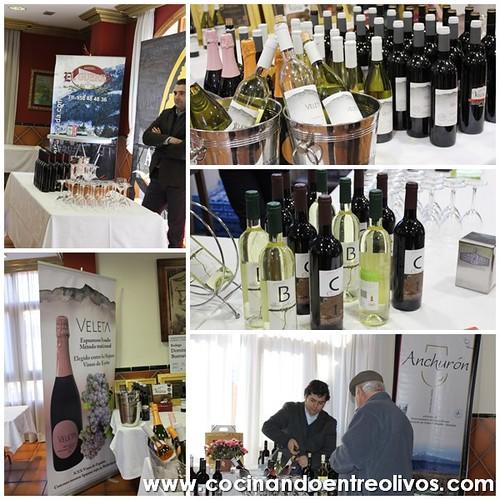 Joranadas vinos y chacinas Huetor Vega www.cocinandoentreolivos.com 2