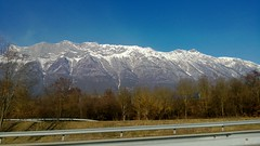 Approaching the mountains
