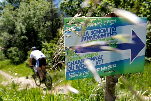 VTT World Championships reunion sign